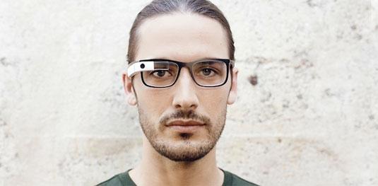 Google glass frames