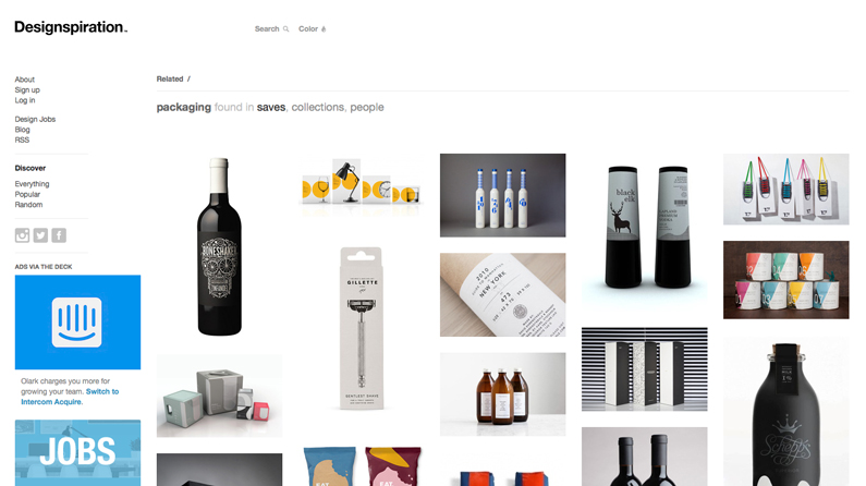 15 online packaging design resources