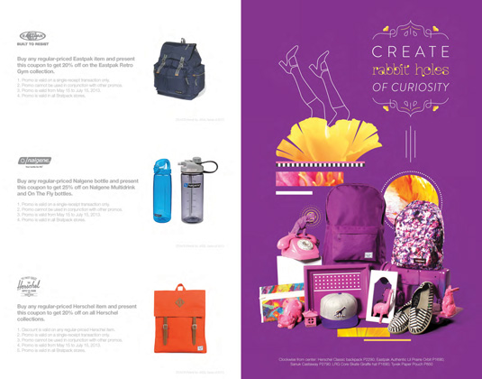 Bratpack back-to-school catalogue