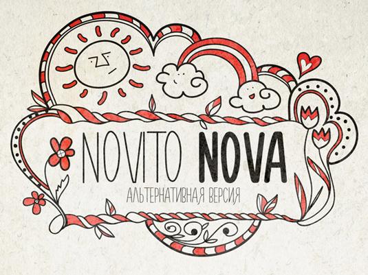 Free font: Novito Nova