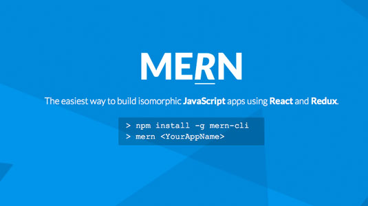 Web design tools: MERN