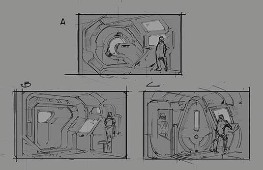 Creating a spaceship airlock