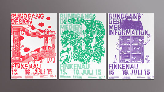 Flyer Design Ideas awesome flyer design ideas Flyer Design Rundgang Dmi
