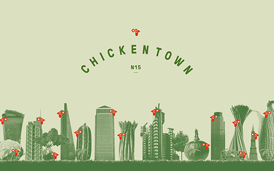 Brand Impact Awards - Chickentown, by Peter & Paul