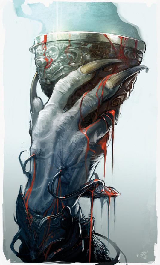 vampire hand talons