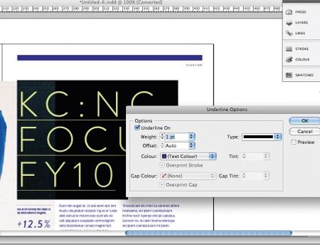 Design a brochure: step 7