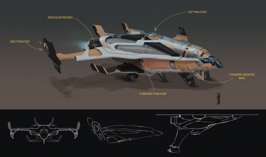 Game Space Ship: step 14
