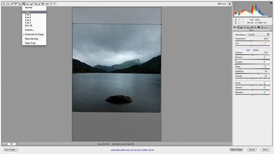 Adobe Camera Raw tutorial 1