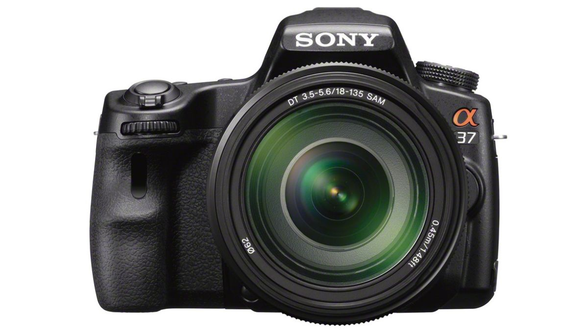 sony alpha 37 review techradar. Black Bedroom Furniture Sets. Home Design Ideas