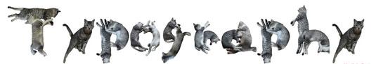 Neko font site's cats
