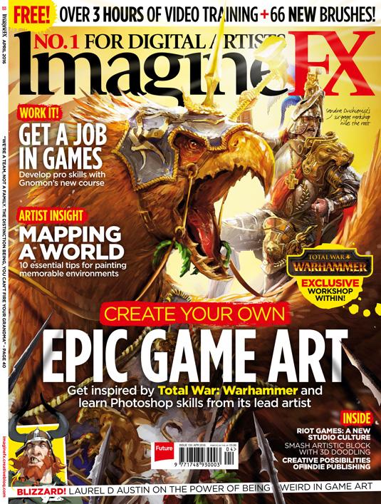 ImagineFX issue 133