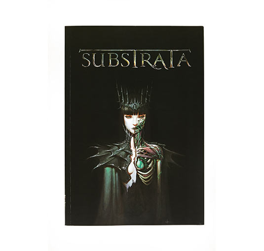 substrata book cover