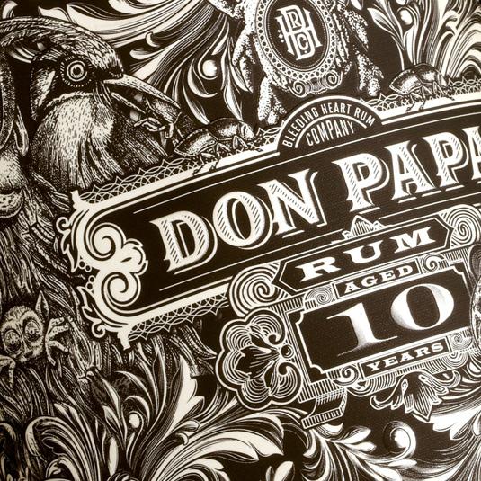 Don Papa packaging