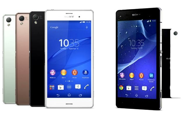 Sony Xperia Z3 vs Xperia Z2: Full smartphone specs ...