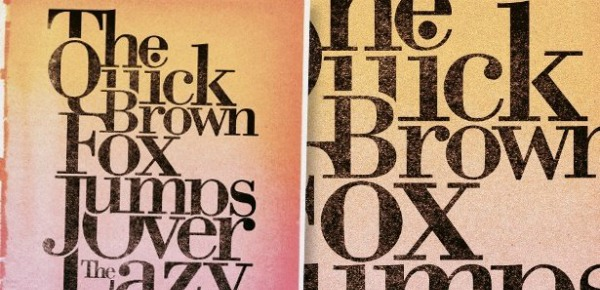 Typography tutorials: type posters