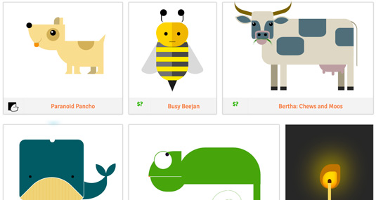 Pure CSS Animals