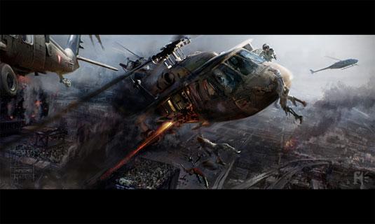 world war z zombie