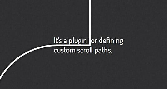 jQuery plugin Scroll Path