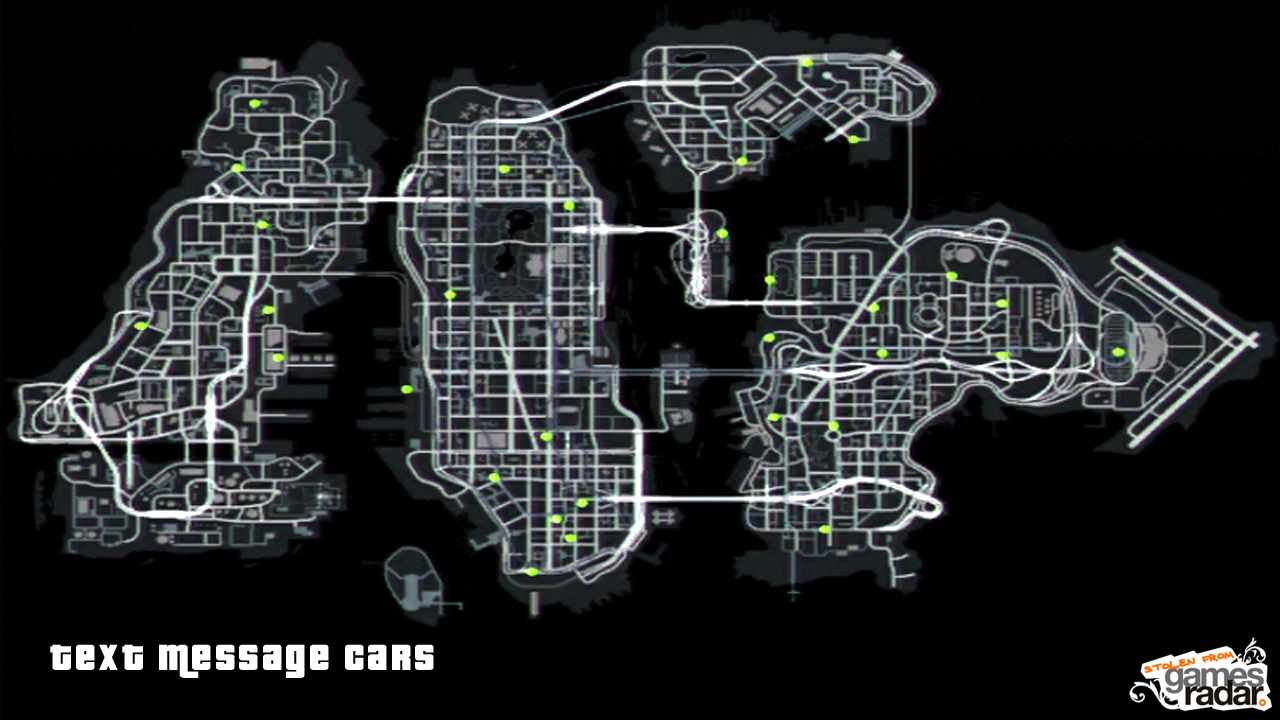 text message cars xbox 360 - Gta 4 Secret Cars Locations Xbox 360
