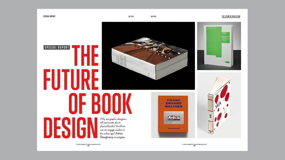 Computer Arts 255: the future of book design
