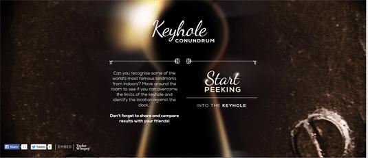 keyhole conundrum