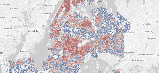CartoDB provides an unparalleled way to combine maps and tabular data to create visualisations