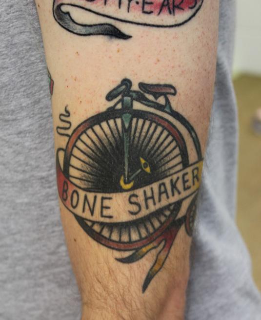 Desginers tattoos: 45rpm