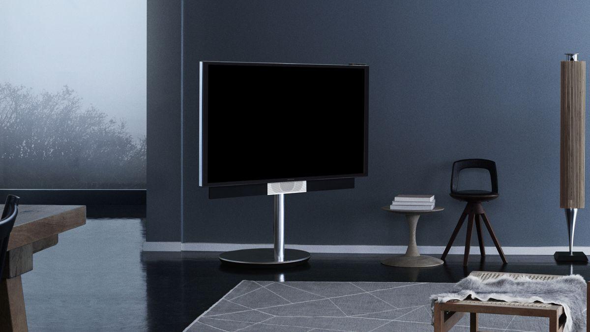 bang olufsen 39 s beovision avant 4k tv is the ultimate background blender techradar. Black Bedroom Furniture Sets. Home Design Ideas