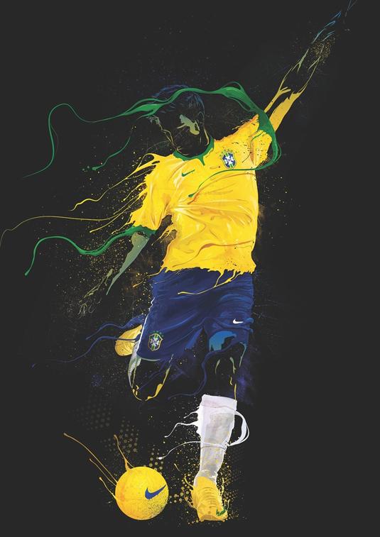nike football art