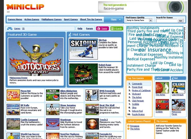 Miniclip Free To Play Games