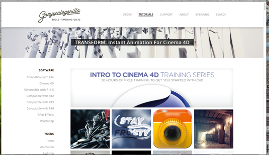 Free training resources: Greyscalegorilla