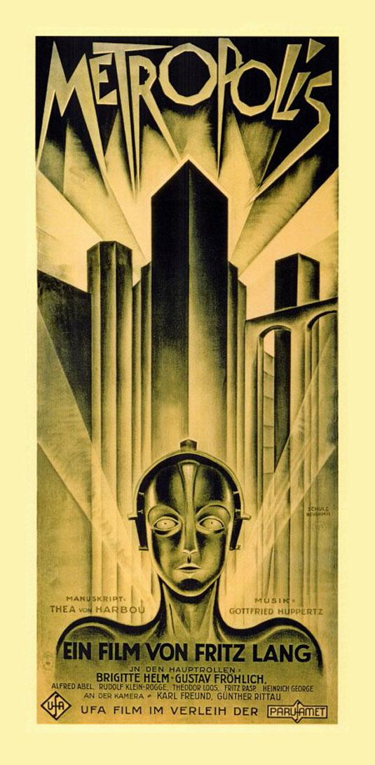 Movie posters: Metropolis