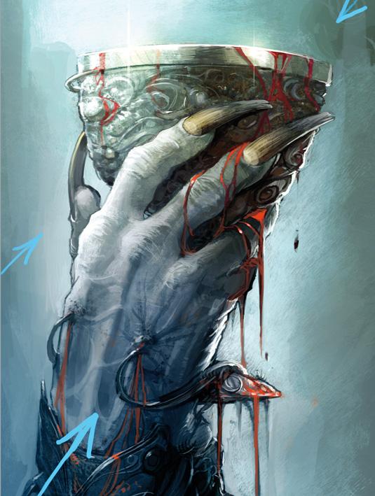 vile vampire hand