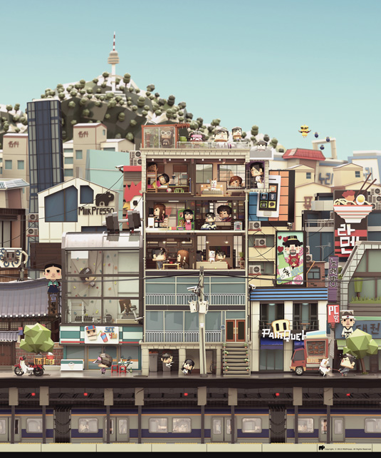 City life by Benoit Regimbal