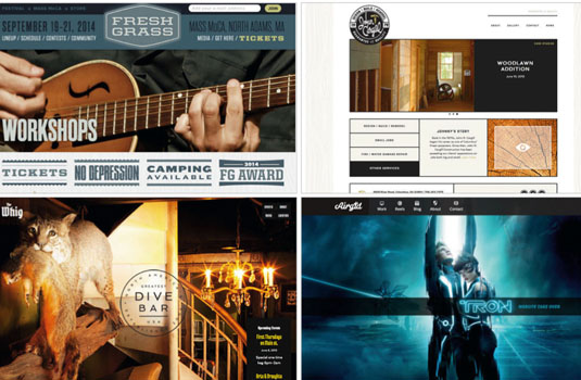 Head to studiopress.com/showcase to see how other designers have customised Genesis child themes