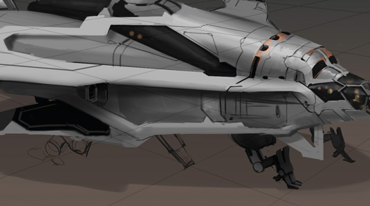 Game Space Ship: step 9