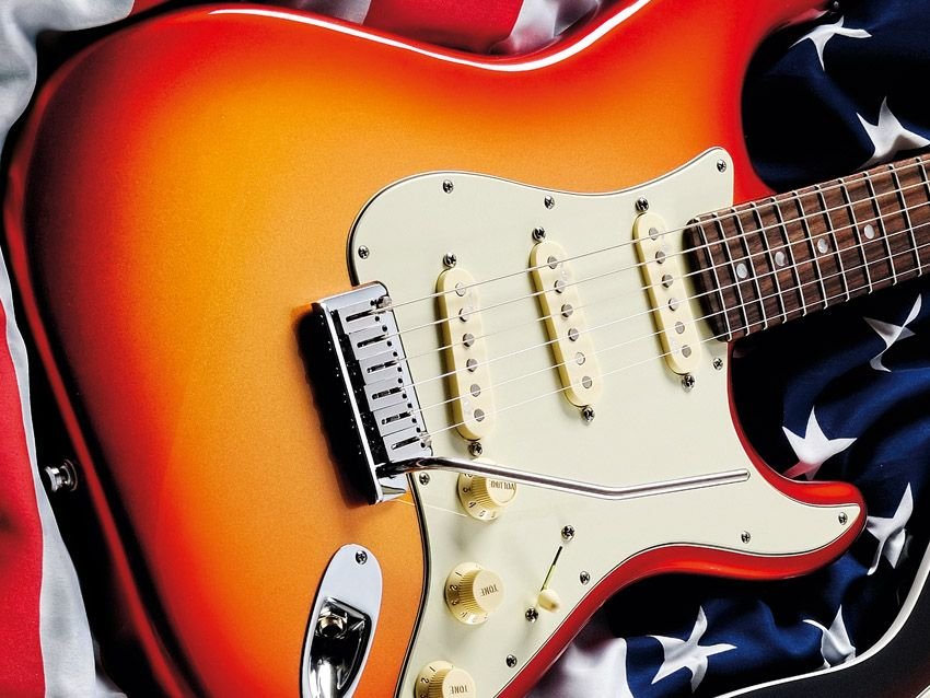 fender american deluxe stratocaster review musicradar. Black Bedroom Furniture Sets. Home Design Ideas