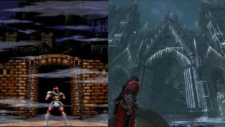 Castlevania Graphics Then Amp Now Skeletons Belmonts And