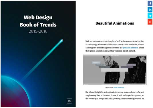 More information – Web Design Book of Trends: 2015-2016