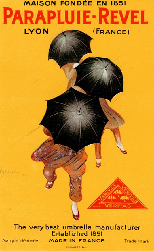Vintage posters - Parapluie-Revel
