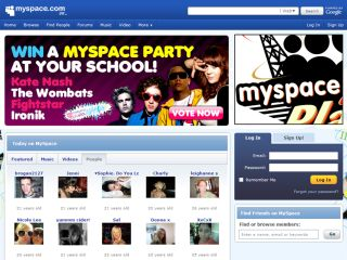 Mypace hoping to bolster their already massive presence on the web