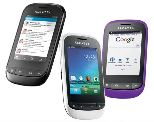Alcatel java телефон приложение на