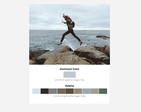 Color Thief screengrab