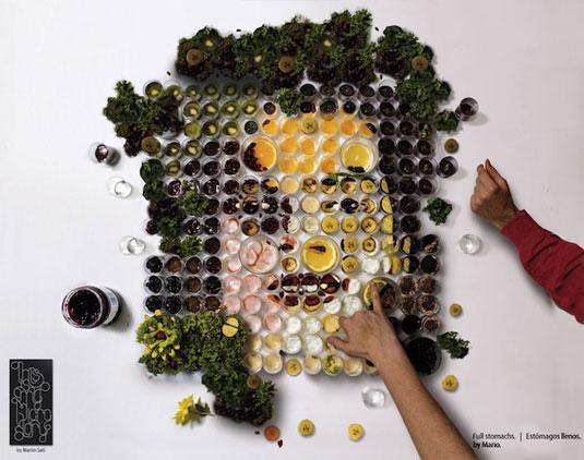 vegetable lifelike portraits