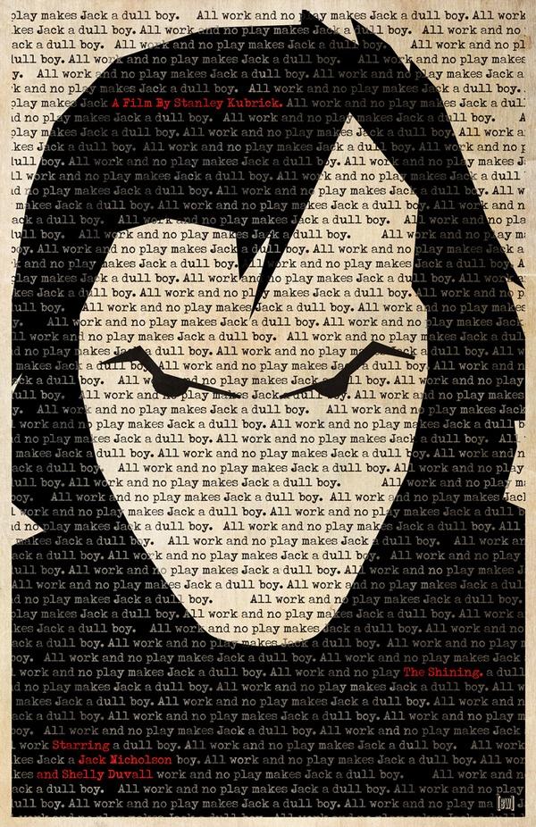 Ben Whitesell - The Shining Re-imagined Poster