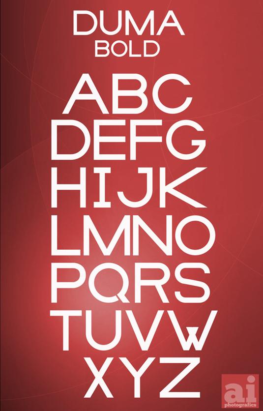 Free font: Duma