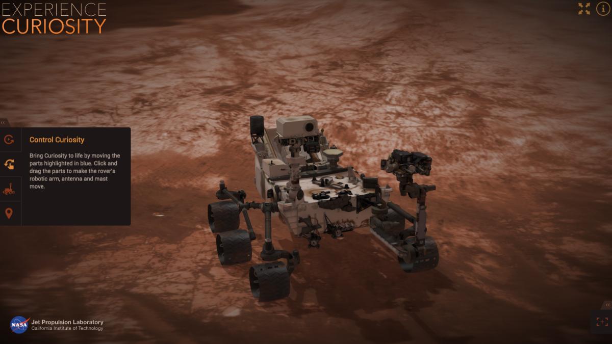 mars rover simulator - photo #3