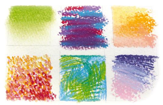 pastel drawing: pastel smudging
