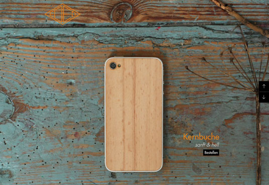 Wooden iPhone case 3