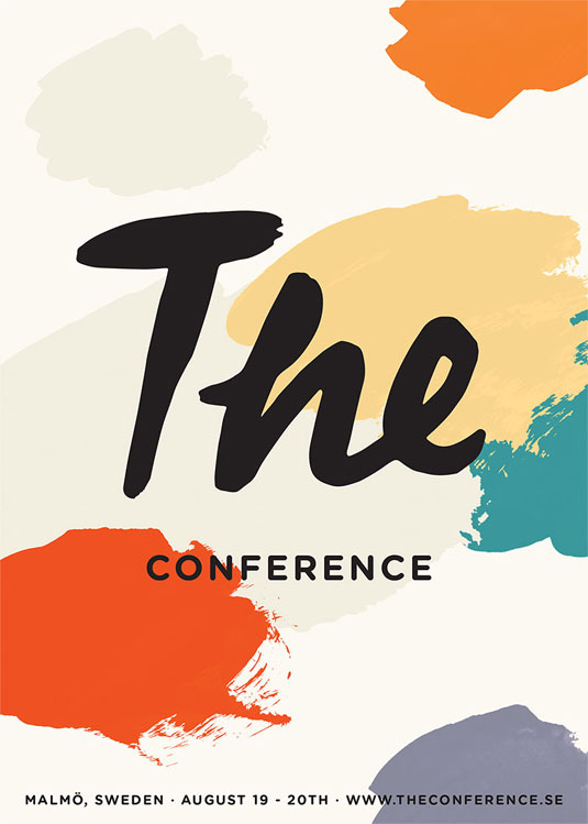 The Conference branding
